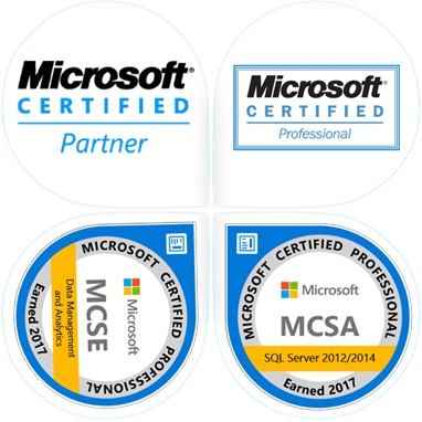 We are Microsoft Certified